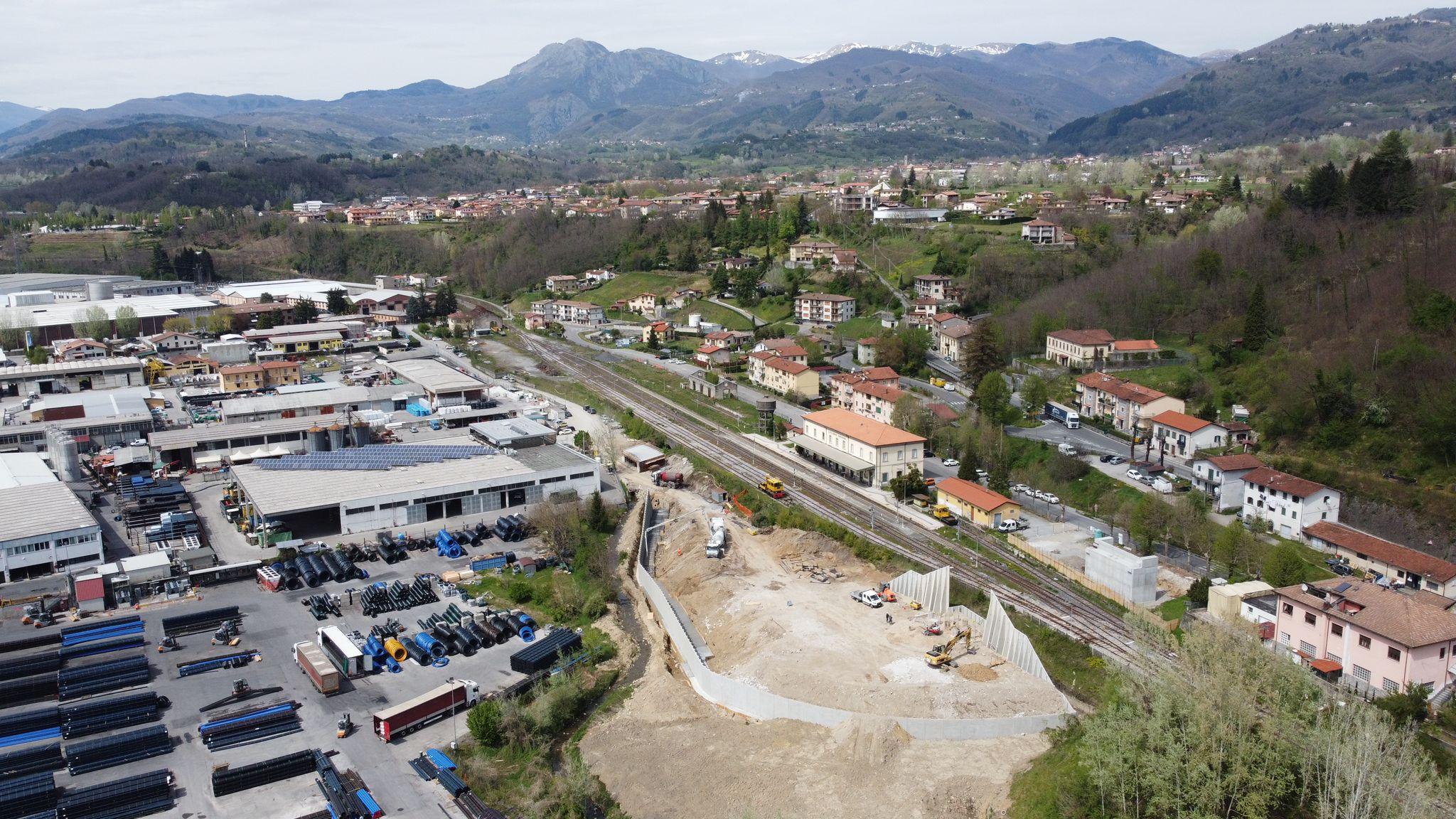 Viabilità, un milione dalla Regione per lo scavalco della stazione di Castelnuovo Garfagnana