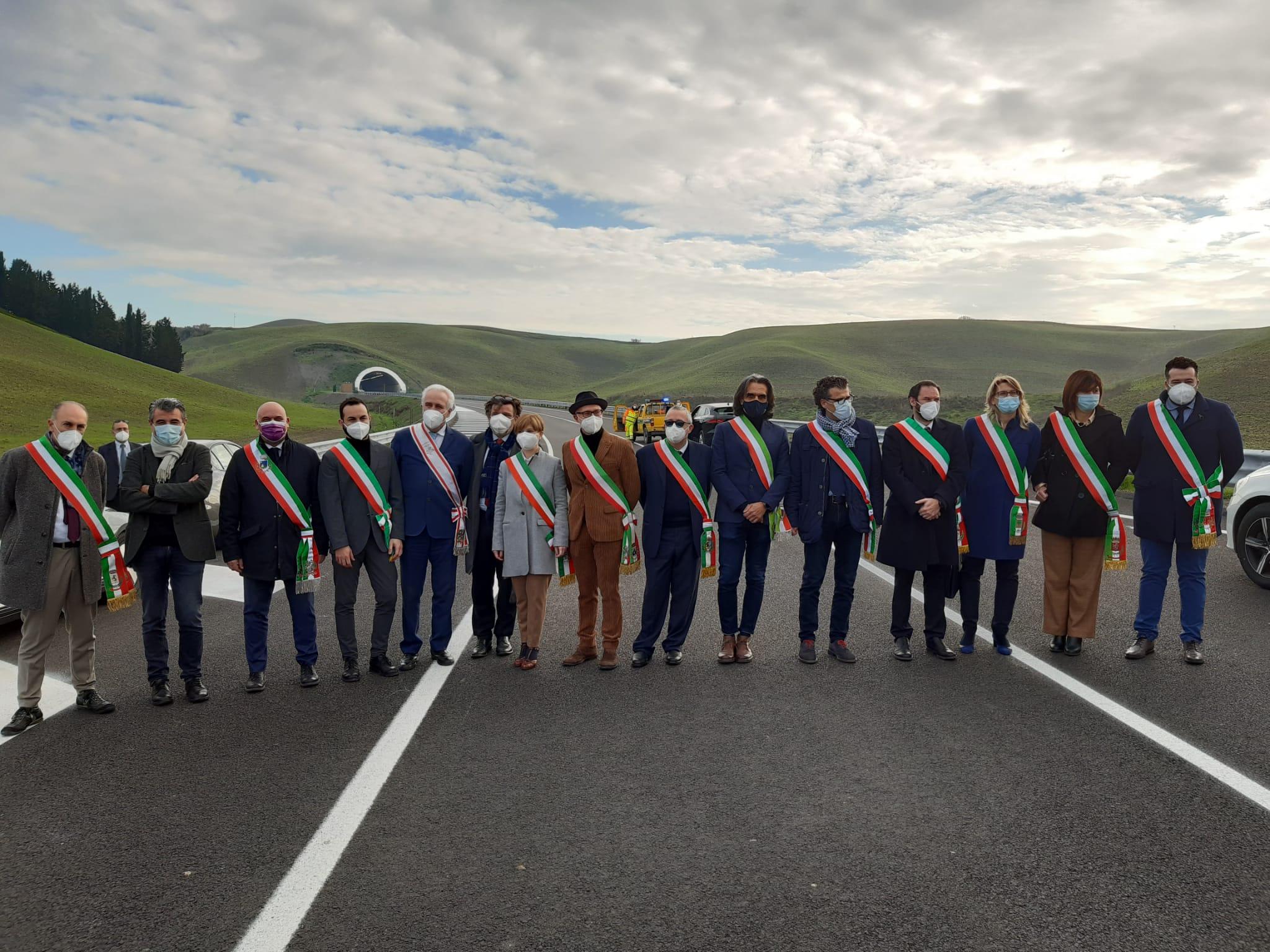 Inaugurata la nuova sr 429, da Empoli a Castelfiorentino
