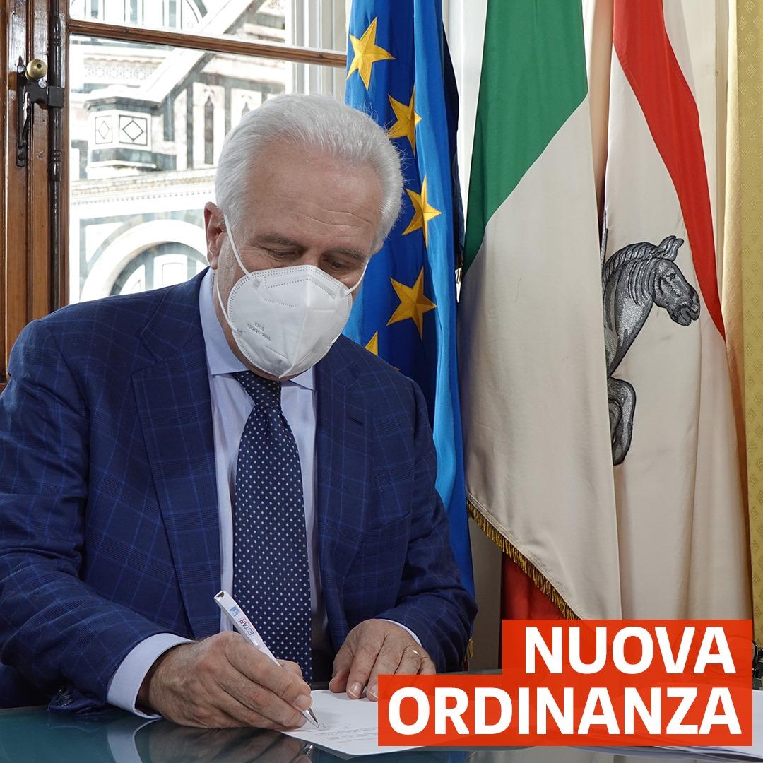 Toscana in zona arancione, Giani firma un'ordinanza per chiarire cosa si può fare