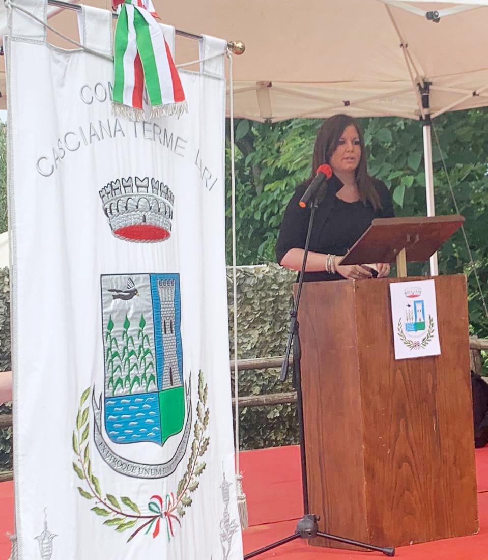 Strage nazifascista di Aiale, Alessandra Nardini alla commemorazione delle vittime