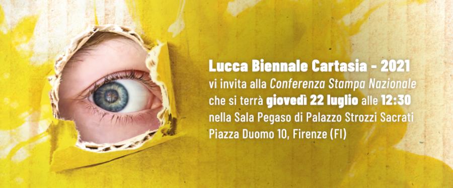 Cultura, la X edizione di Lucca Biennale Cartasia: presentazione giovedì 22 alle 12.30