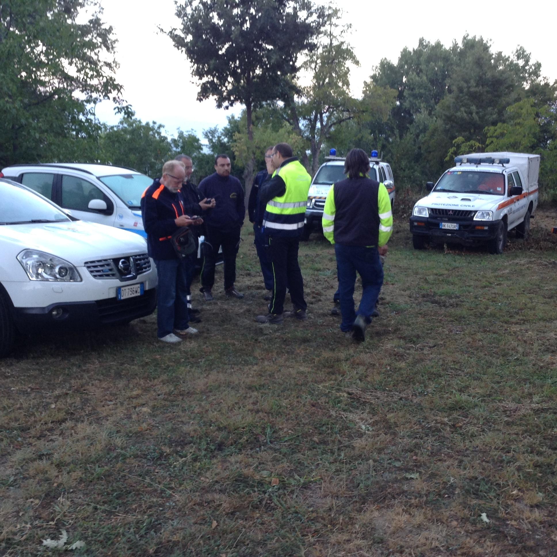 Nonostante nuove scosse, montati i campi della protezione civile regionale