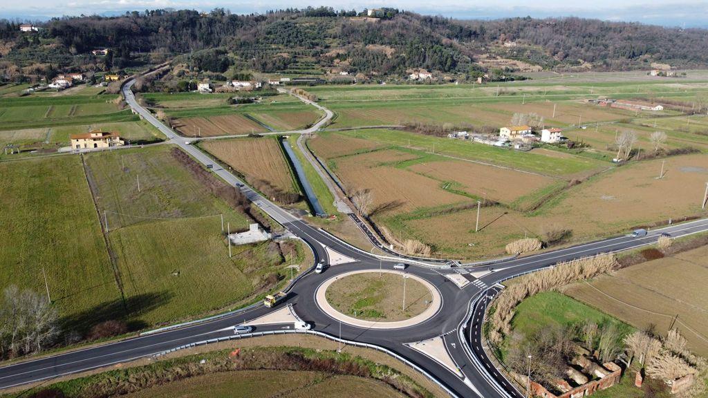 Nuova rotatoria su Via Usciana, Baccelli: