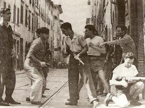 Partigiani in azione a Firenze