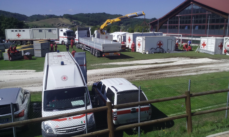 La Toscana allestirà due campi a Musicchio e Cornillo