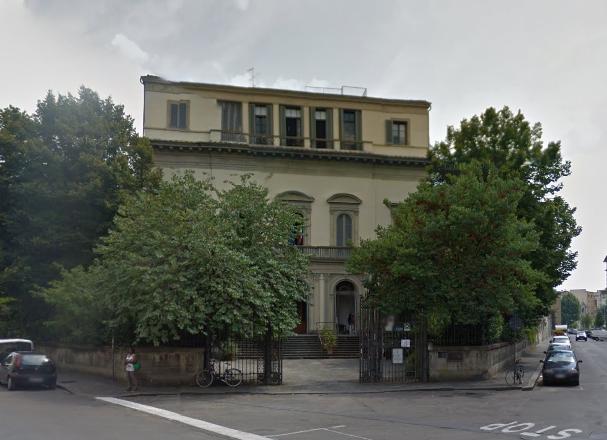 La sede di Villa Poggi a Firenze