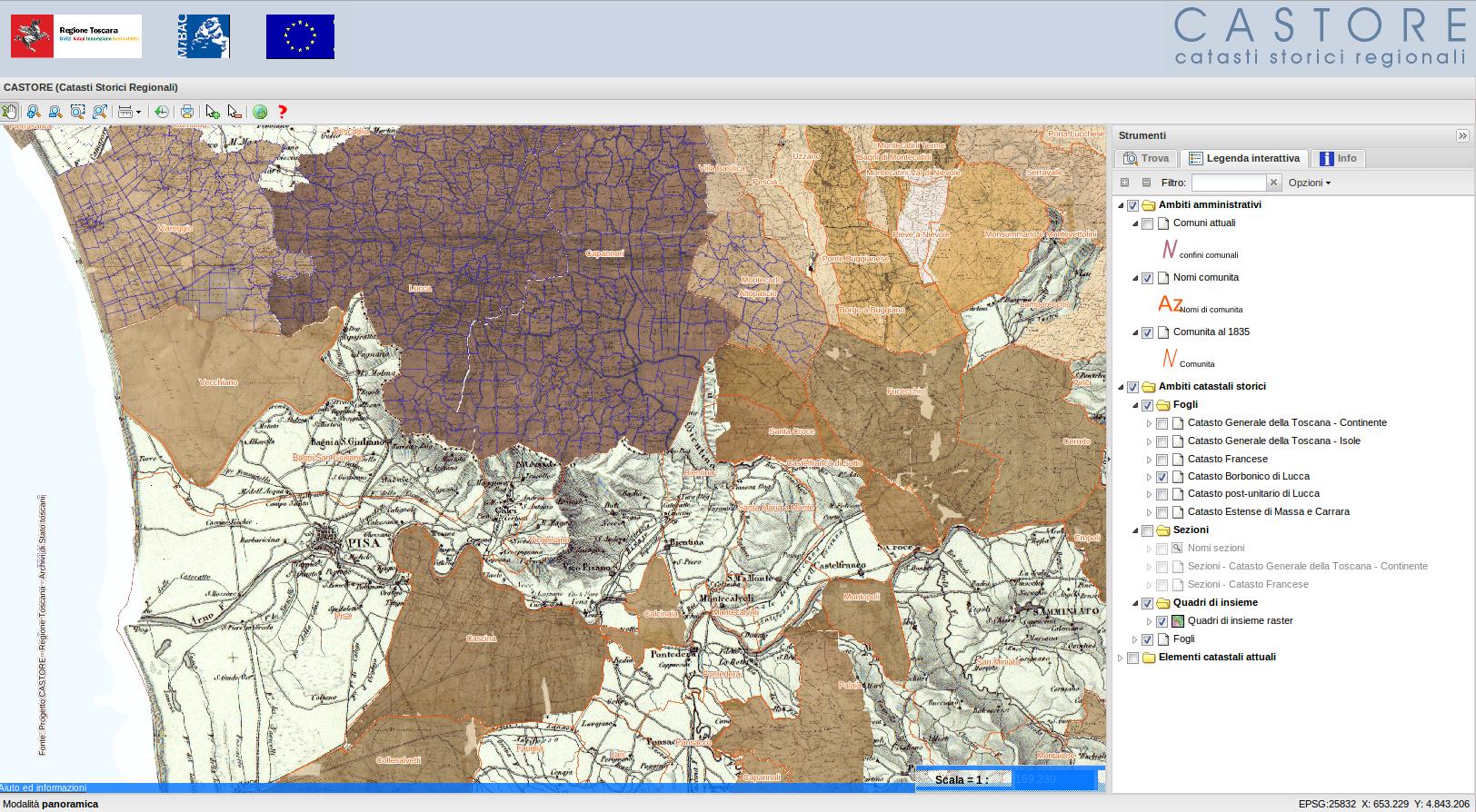 Cartina Geografica Della Toscana.Una Cartografia Speciale Per Capire La Toscana A Tutti I Livelli Toscana Notizie