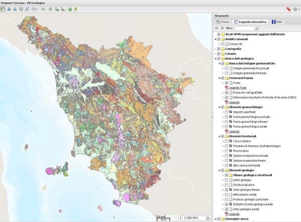 Cartina Geografica Immagini Della Toscana.Pubblicato Il Portale Della Geologia Notizie Regione Toscana