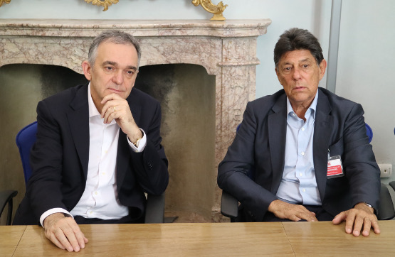 Enrico Rossi e Alfredo Lowenstein