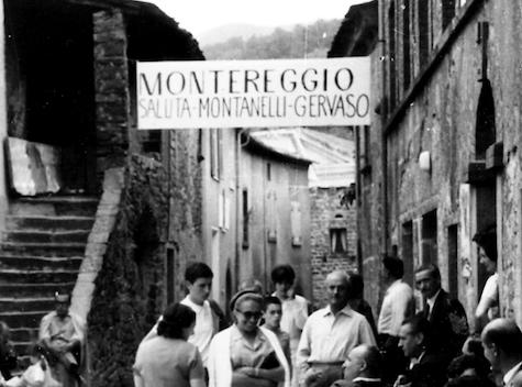 Montereggio, foto degli anni Settanta