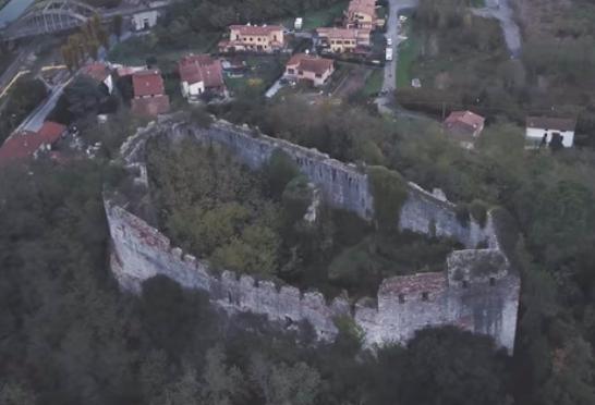 I ruderi della Rocca di Ripafratta (Pi)