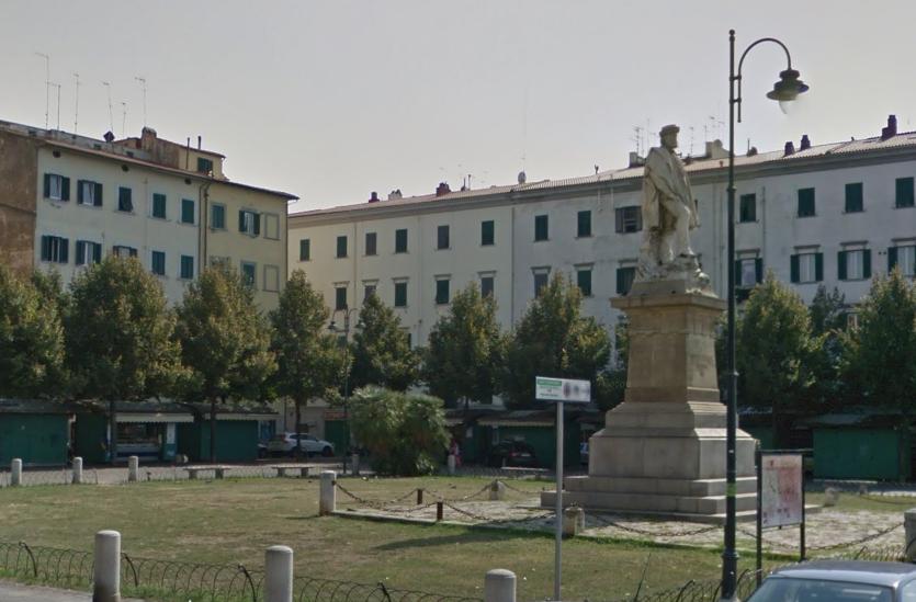 Livorno, piazza Garibaldi