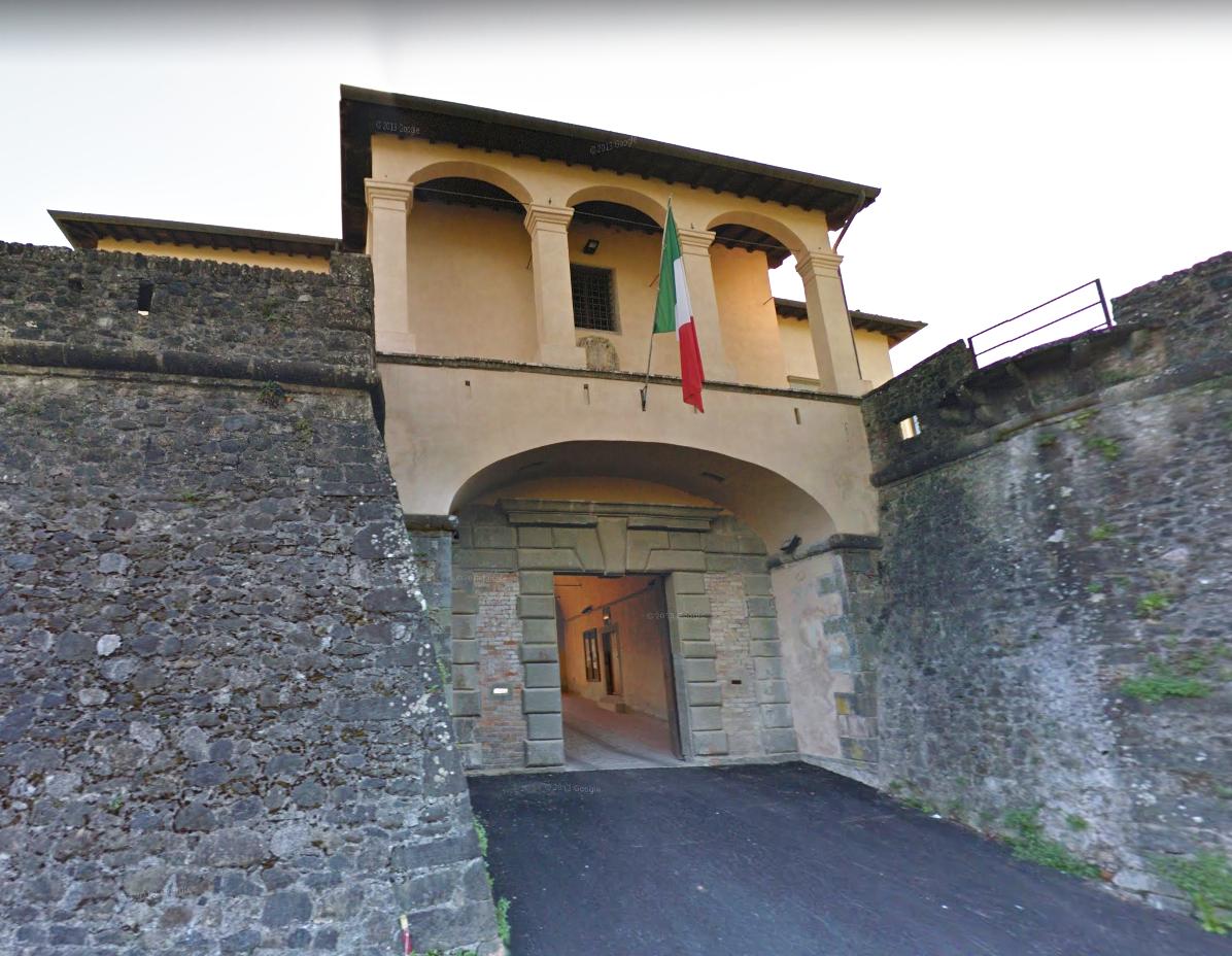 Ingresso della Fortezza di Mont'Alfonso