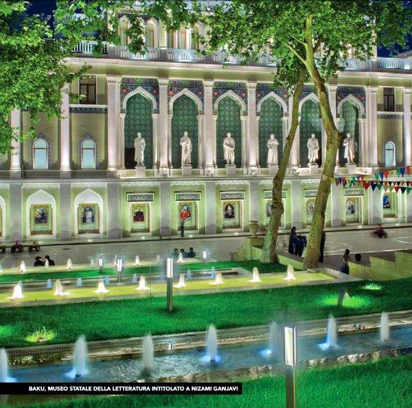 Il Museo della Letteratura di Baku
