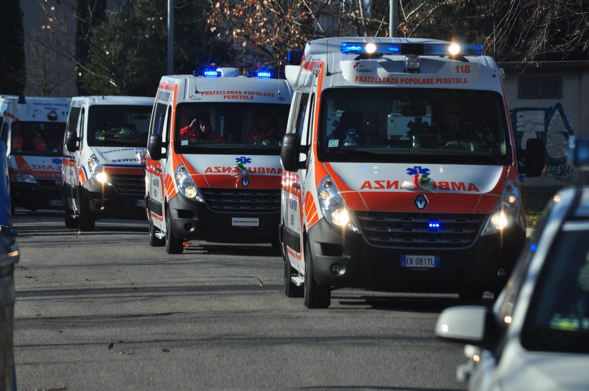 Anche la sanità nella colonna mobile della Protezione civile