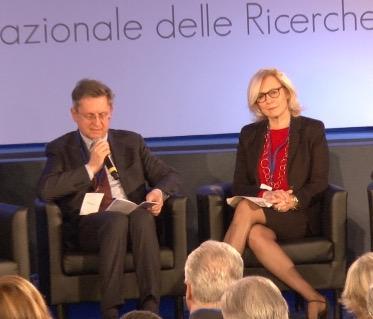 Monica Barni con il sindaco di Pisa Marco Filippeschi
