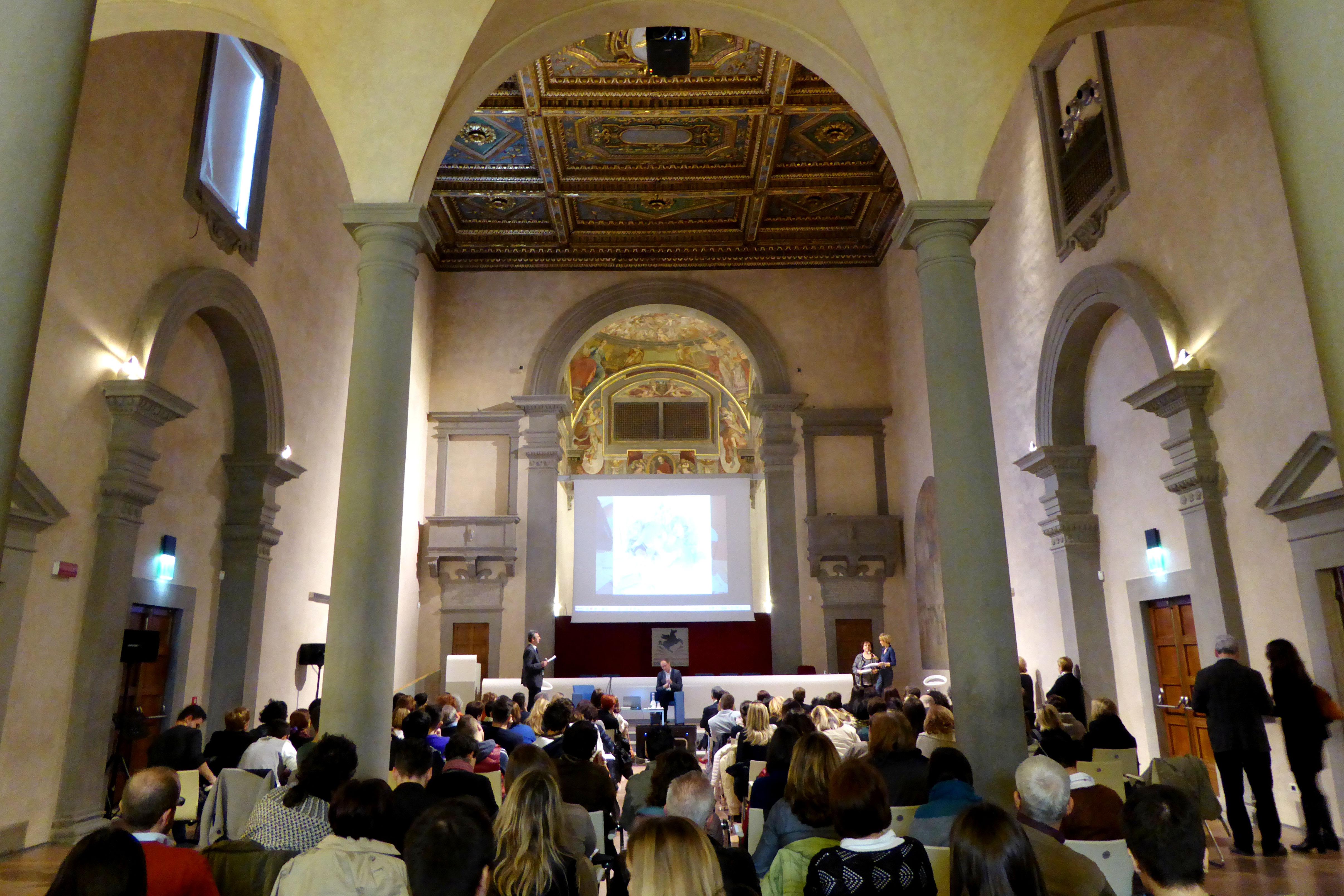 Il convegno in Sant'Apollonia (foto di Simone Cresci)