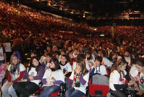 Ragazzi delle scuole toscane al Meeting 2013