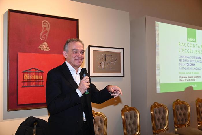 Il presidente Rossi al convegno Ansa