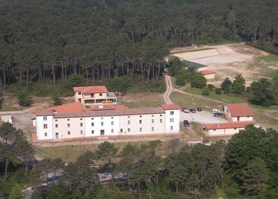 Il Centro addestramento a Monticiano (Si)
